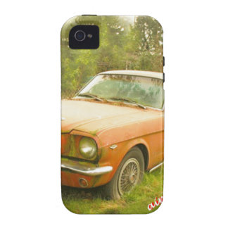 1966 Ford Mustang Fastback iPhone 4 Covers