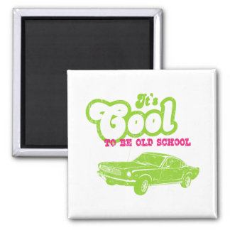 1966 Ford Mustang Fastback Refrigerator Magnets