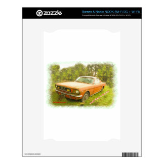 1966 Ford Mustang Fastback NOOK Decals