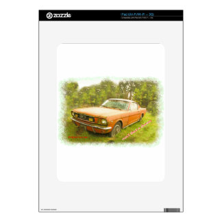 1966 Ford Mustang Fastback Skin For The iPad