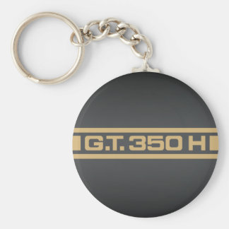 1966 Ford Mustang Shelby GT350H Basic Round Button Keychain