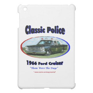 1966 Ford Police Cruiser Case For The iPad Mini
