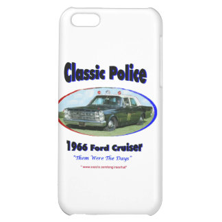 1966 Ford Police Cruiser Cover For iPhone 5C