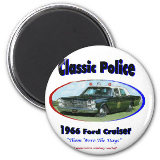 1966 Ford Police Cruiser Magnet