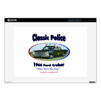 1966 Ford Police Cruiser Laptop Decals