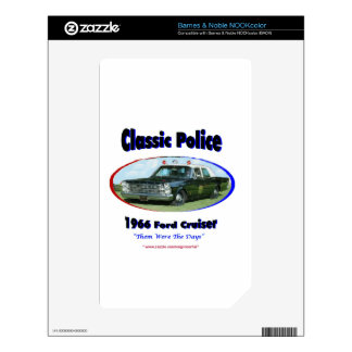 1966 Ford Police Cruiser Skins For The NOOK Color