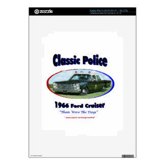 1966 Ford Police Cruiser Skin For iPad 3