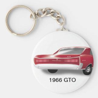1966 GTO Keychain