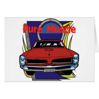 1966 GTO Muscle Car Card