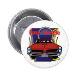 1966 GTO Muscle Car Pinback Button