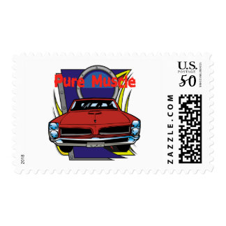 1966 GTO Muscle Car Postage