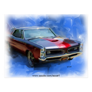 1966 GTO POST CARDS