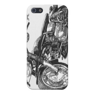 1966 Harley Davidson Sprint Vintage Motorcycle iPh Case For iPhone SE/5/5s