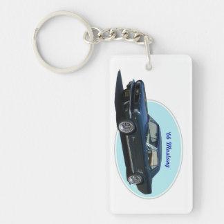 1966 Mustang key chain Acrylic Keychain