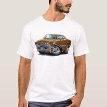 1966 Olds Cutlass Brown Car T-Shirt