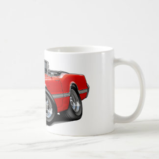 1966 Olds Cutlass Red Convertible Coffee Mug