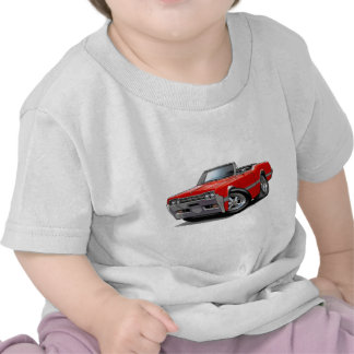 1966 Olds Cutlass Red Convertible Tshirts