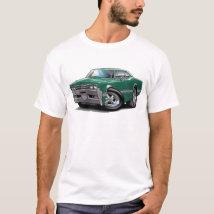 1966 Olds Cutlass Teal Car T-Shirt