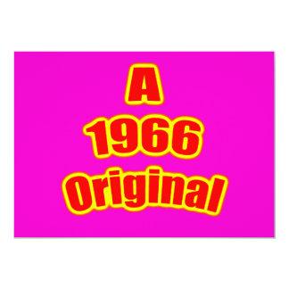 "1966 Original Red Mag 5"" X 7"" Invitation Card"