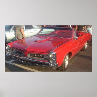 1966 Pontiac GTO Convertible Poster