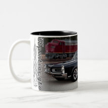 1966 Pontiac GTO Muscle Car Coffee Mug