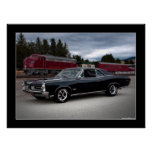 1966 Pontiac GTO Muscle Car Poster
