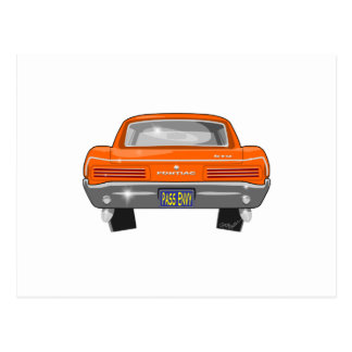 1966 Pontiac GTO Postcard
