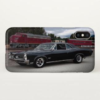 1966 Pontiac GTO Train Classic Muscle Car iPhone X Case