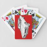 1966 Pontiac Lemans Car Illustration Poker Deck