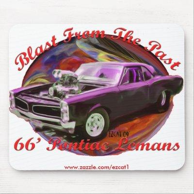 Pontiac Lemans 1966. 1966 Pontiac Lemans Mousepad