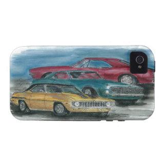 1967, 1968, 1969 coches clásicos de Camaro llaman  iPhone 4/4S Carcasa