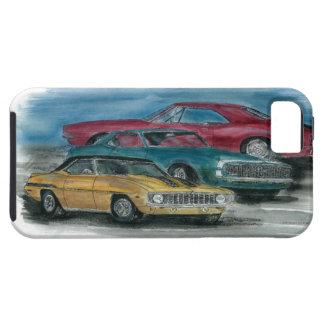 1967, 1968, 1969 obra clásica Camaros iPhone 5 Case-Mate Cobertura