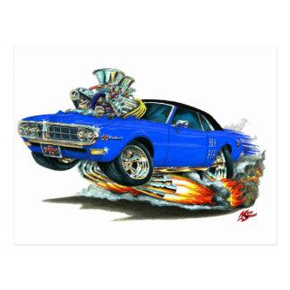 1967-68 Firebird Blue-Black Top Postcard
