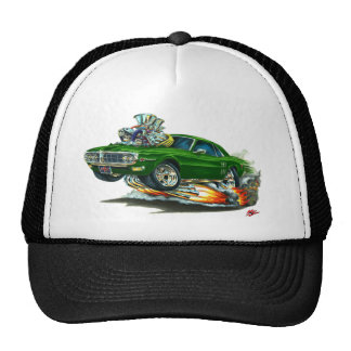 1967-68 Firebird Green Car Trucker Hat