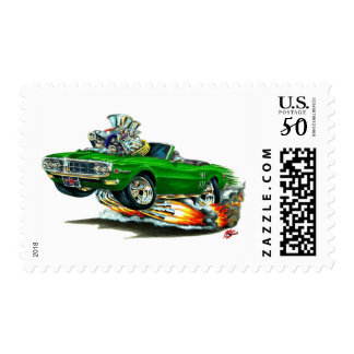 1967-68 Firebird Green Convertible Postage