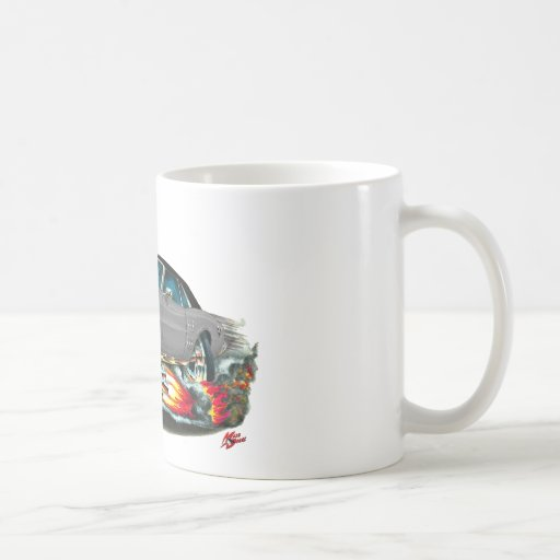 1967-68 Firebird Grey-Black Top Classic White Coffee Mug