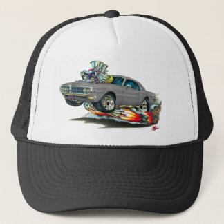 1967-68 Firebird Grey Car Trucker Hat