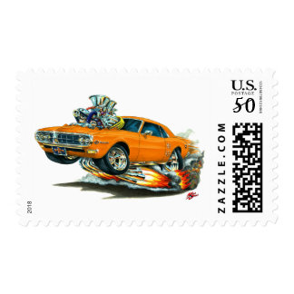 1967-68 Firebird Orange Car Postage