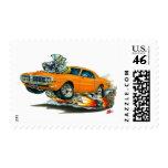 1967-68 Firebird Orange Car Postage