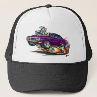 1967-68 Firebird Purple Car Trucker Hat