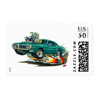 1967-68 Firebird Teal Car Postage