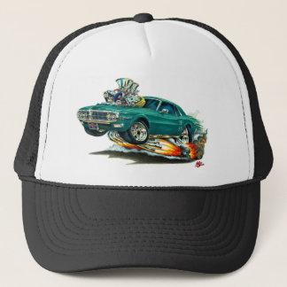 1967-68 Firebird Teal Car Trucker Hat