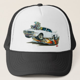 1967-68 Firebird White Car Trucker Hat