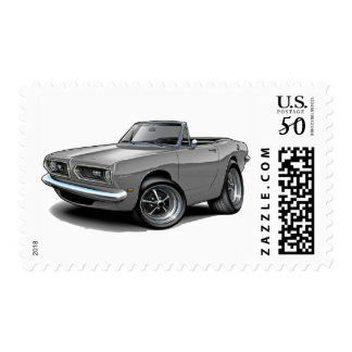 1967-69 Barracuda Grey Convertible Postage