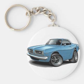 1967-69 Barracuda Lt Blue Coupe Keychains