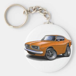 1967-69 Barracuda Orange Car Key Chain