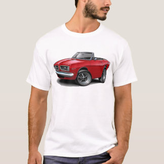 1967-69 Barracuda Red Convertible T-Shirt