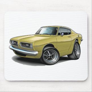 1967-69 Barracuda Tan Car Mouse Pad