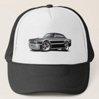 1967 Belvedere Black Car Trucker Hat