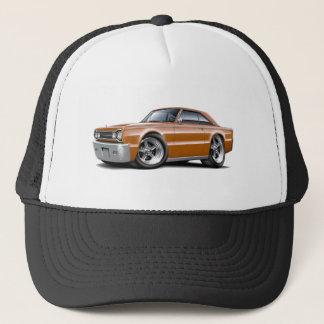 1967 Belvedere Brown Car Trucker Hat